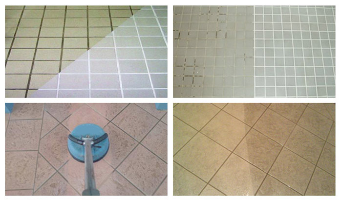 Tile and Grout Cleaning Mascot