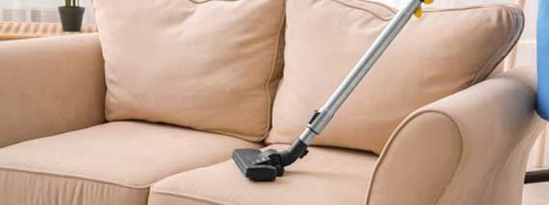 Best Upholstery Vacuum Cleaning Service