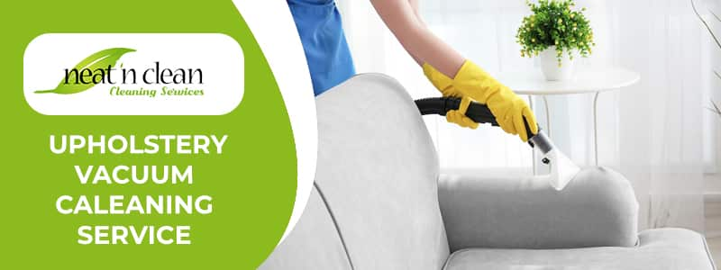 Upholstery Vacuum Cleaning Service